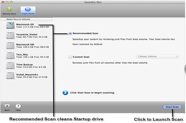 Optimize your Mac from drive and External Drive
