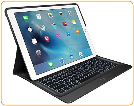 3 Logitech iPad pro keyboard case smart
