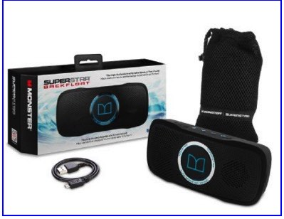 Moster iPhone controlled Waterproof Speaker