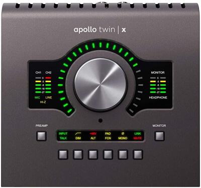 Apollo Quad Thunderbolt 3 Audio Interface