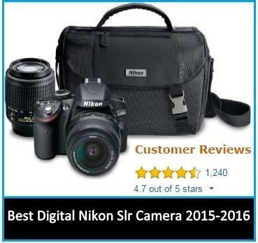 Best Digital Nikon Slr Camera 2015-2016