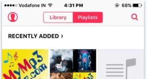 Create and Edit Playlist on iPhone, iPad running on iOS 8/9