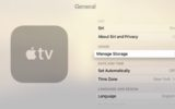 check Apple TV storage space on 1st, 3rd and 4th generation