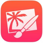Pixlemator nice drawing app for iOS 9 devices