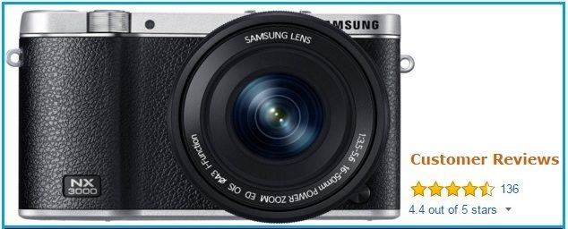 Samsung NX 3000 wireless Digital camera 2015