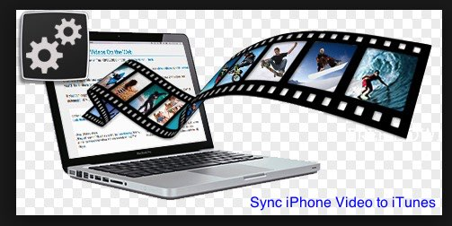 sync video to iPhone using iTunes