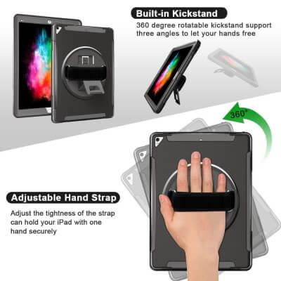 Tekvalley Shockproof Case iPad Pro 12.9