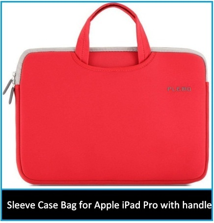 iPad Pro sleeve carrying case 2015