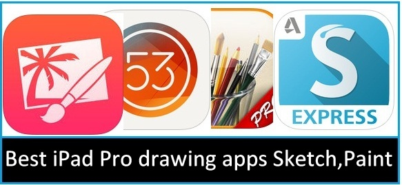 Best ipad pro drawing apps sketching painting creative arts for Online drawing app