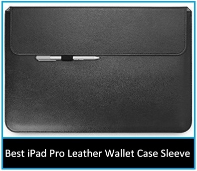 iPad Pro leather wallet sleeve