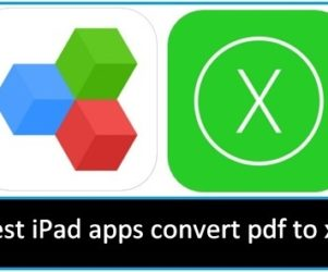 Best iPad apps convert pdf to xls