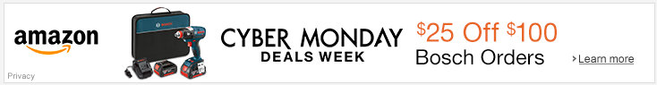 Bosch Cyber Monday deals 2015