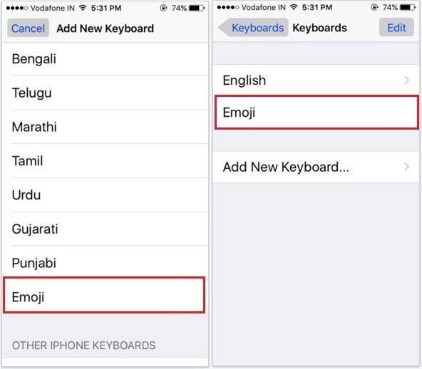 A shortcut way to change emoji skin tone color on iOS 9 keyboard