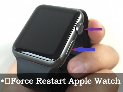How to force restart Apple watch os 2