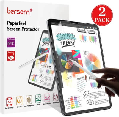 iPad Pro Paperfeel Tempered Glass screen protector
