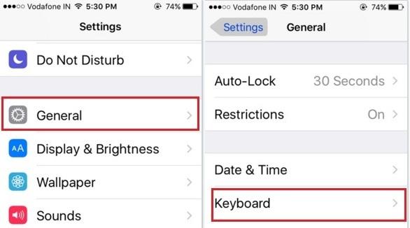 How to add emoji keyboard on iPhone