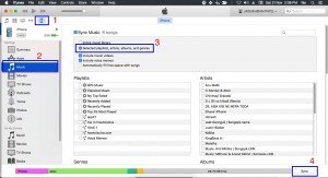 how to sync iTunes playlist to iPhone, iPad and iPod
