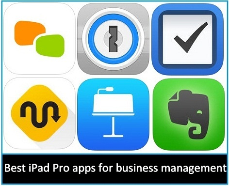 Top 10 Best iPad Pro apps for business management 2015-2016