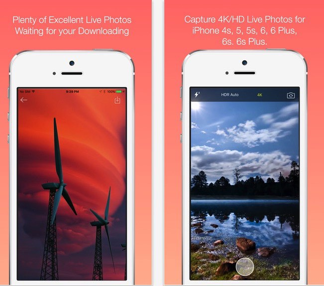 Take live photo on iPhone 6, 6 Plus, 5S with iOS 9