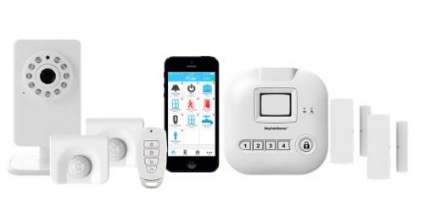 Home Automation Security System Controlled with iPhone