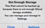 Not enough storage in iCloud message on iPhone and iPad