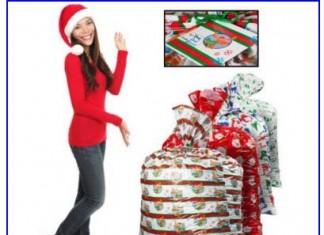 Sweet christmas 2015 gift bag