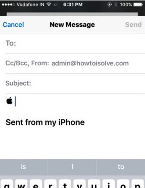 Use apple logo on iPhone, iPad with iOS 9 or 8
