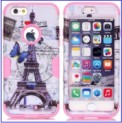 Printed back iPhone 6C case