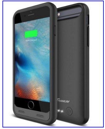 Trianium iPhone 6 case as external battery