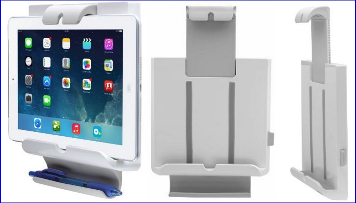 Adjustable iPad mount holder