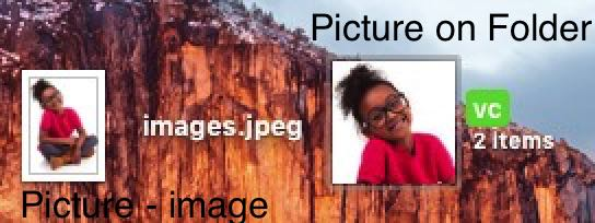 Change folder icon mac OS X EI Capitan, Yosemite