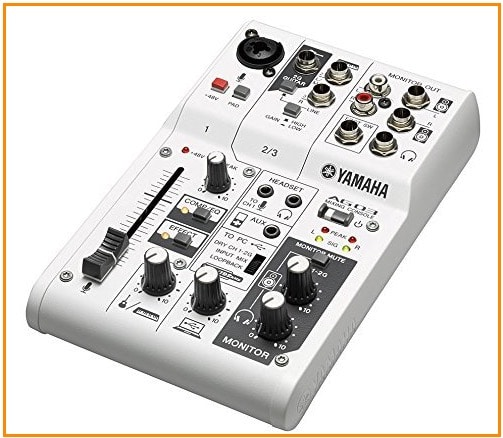 5 Yamaha Audio interface for iPad