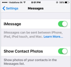 iMessage waiting for activation iOS 9