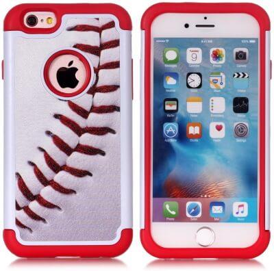 Baseball Sports Pattern iPhone 6 Case