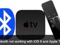 Bluetooth not working with iOS 9 and Apple TV 4th version