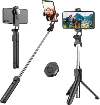 Extendable Selfie Tripod Stick for iPhone