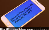 best Guide to fix iPhone blue screen issue: Black or white colors 6s plus, iPad
