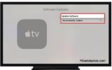 How to turn off or disable Auto software update Apple TV