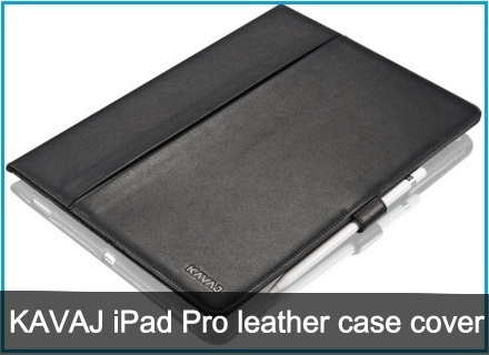KAVAJ iPad Pro leather case covers