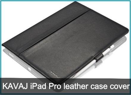KAVAJ iPad Pro leather case covers