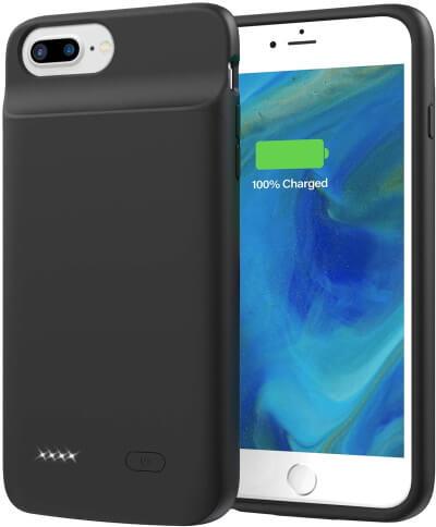 Lonlif 5000mAh Battery Case for iPhone 6S Plus