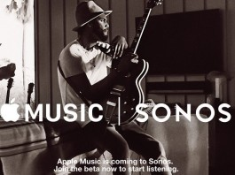Play apple music on sonos sound system