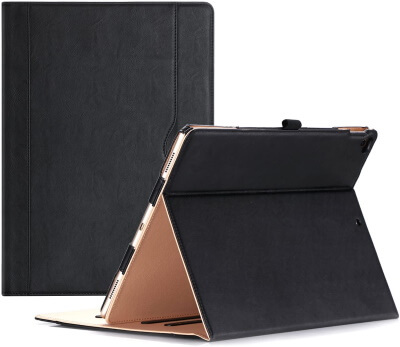 ProCase Best iPad Pro Case with Pencil Holder