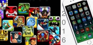 Most favourite iPhone games 2016