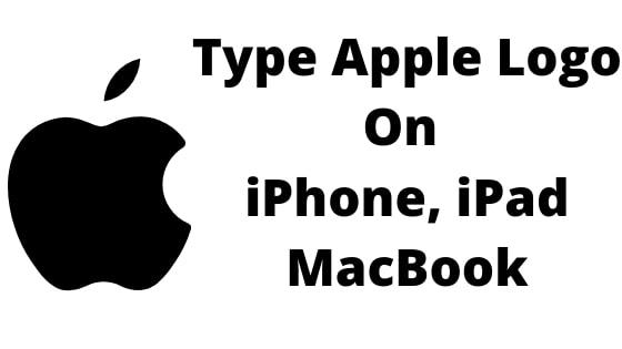 Type Apple Logo  On iPhone, iPad MacBook (1)-min