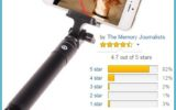 selfie stick Bluetooth Remote Shutter Extendable Pole Monopod for iphone 6 Plus