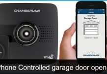 Best iPhone controlled garage door openers