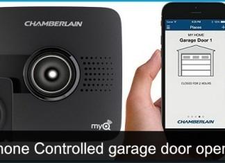 Best iPhone controlled garage door openers