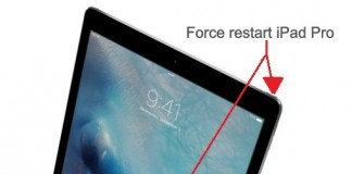 How to fix iPad Pro Stop responding or black screen issue, force restart iPad Pro