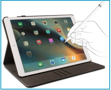 Top iPad Pro leather Cases with Pencil holder